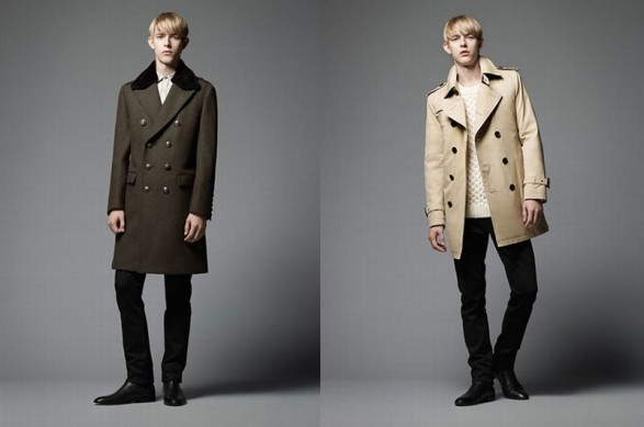 Burberry Black Label Man Fall-Winter 2011-2012