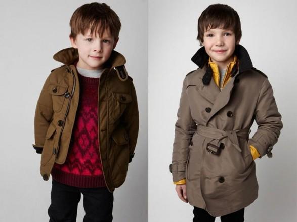 Burberry Kids Autumn-Winter 2011