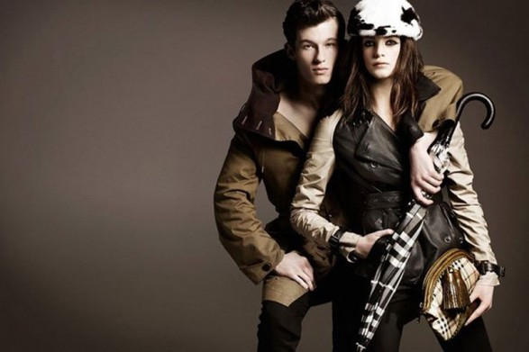Burberry campaign Fall-Winter 2011