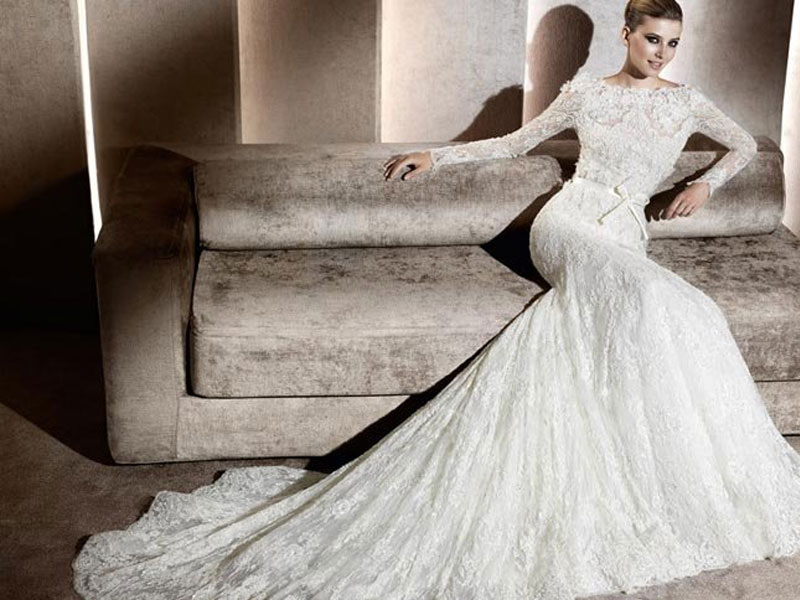 Elie Saab For Pronovias Wedding Dresses 2012 2