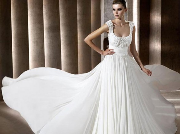 Elie Saab for Pronovias wedding dresses 2012