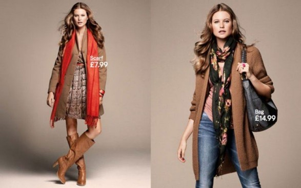 H & M Autumn 2011-2012 with Behati Prinsloo