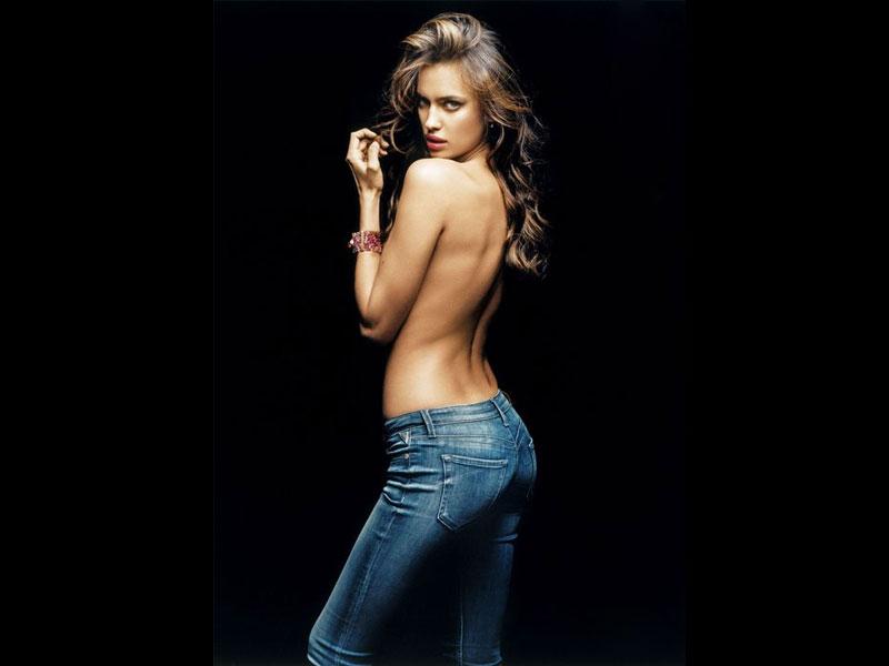 Irina Shayk Guess Jeans Irina Shayk For Replay Jeans
