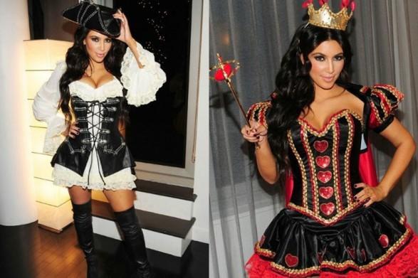 Kim Kardashian Halloween Special costumes