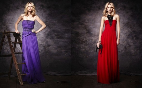 Mango Collections for Christmas Party Dresses 2011