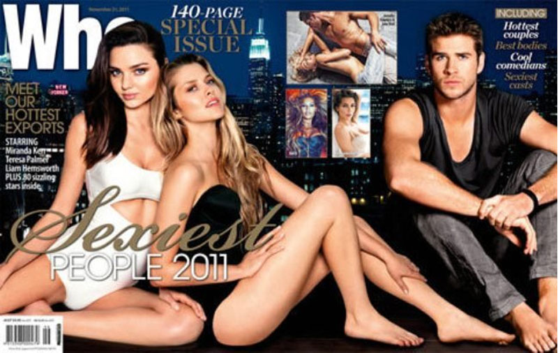 Miranda Kerr and Teresa Palmer: Sexiest Model 2011