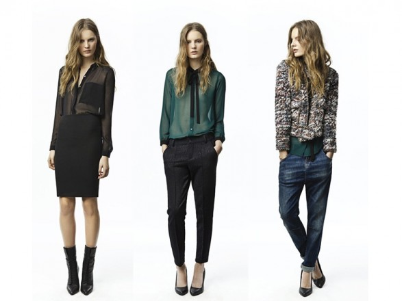 October lookbook for Fall 2011 of Zara Trafaluc