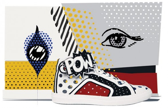 Pierre Hardy POWORAMA Limited Edition Sneakers