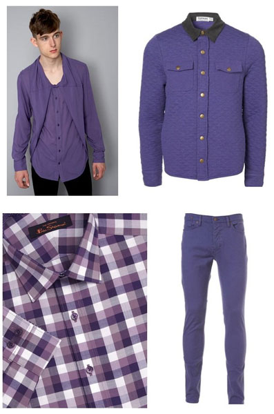 Purple pink and lily this Fall-Winter 2011-2012