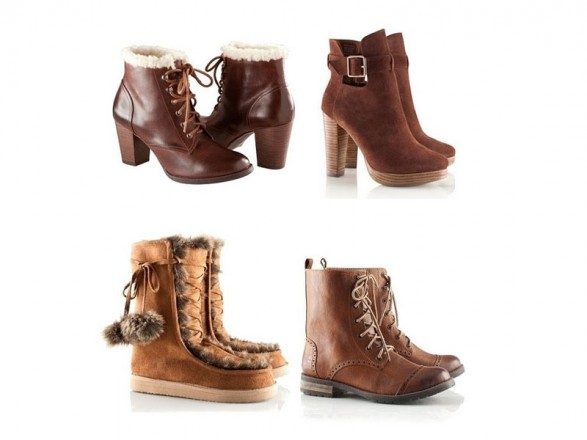 Shoes, booties and boots H & M for Fall-Winter 2011-2012