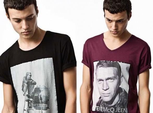 Steve McQueen T-shirts from Zara