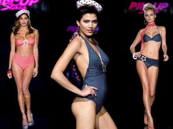 Swimwear Summer 2012 Pin-Up Stars