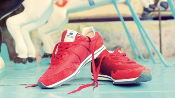 This fall Le Coq Sportif is following very vintage