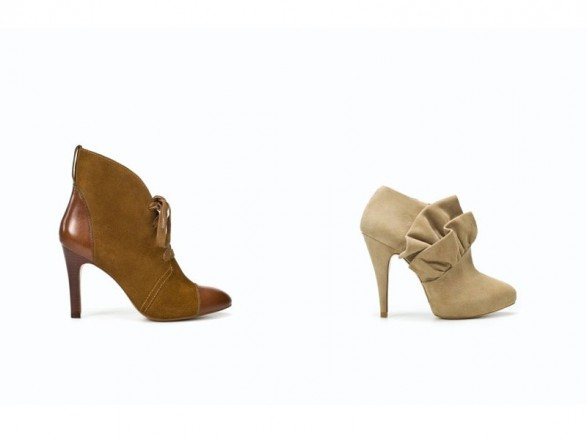 Zara shoes and boots for Fall-Winter 2011-2012